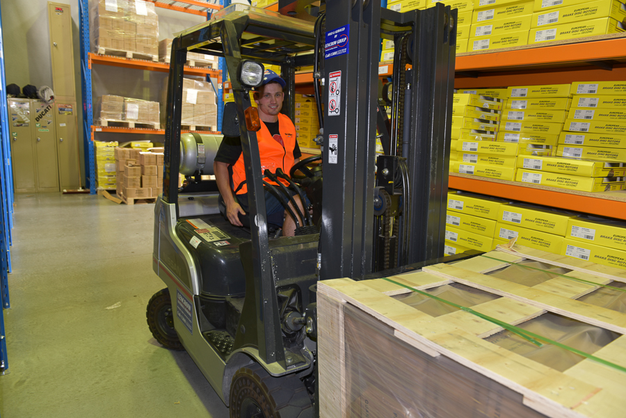 Warehose Forklift driver - David-web