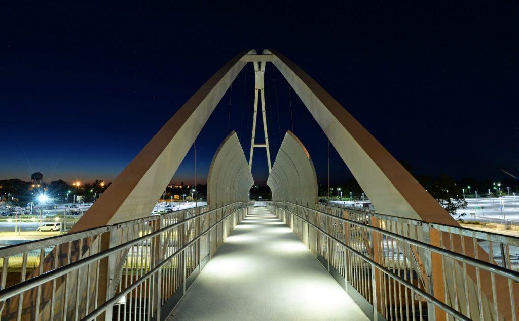 New Walkover Bridge - City of Mandurah