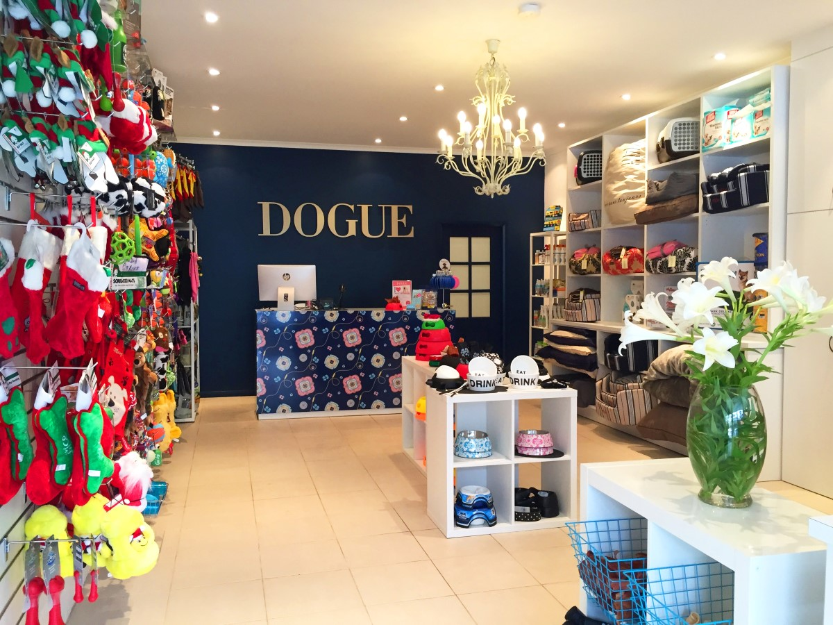 DOGUE Balmain Store Shot